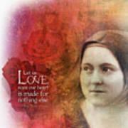 Let Us Love II Art Print