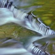 Letchworth Falls Sp Wolfe Creek Art Print