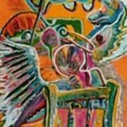 Life Angels On Duty Art Print