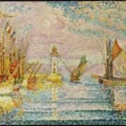 Lighthouse At Groix Art Print