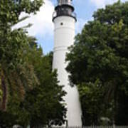 Lighthouse - Key West Art Print