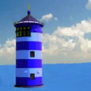 Lighthouse On The Sea Art Print