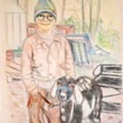 Linda And Stinky Art Print