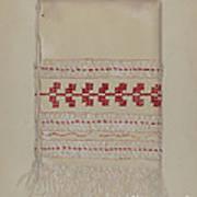 Linen Towel Art Print