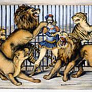 Lion Tamer, 1873 Art Print