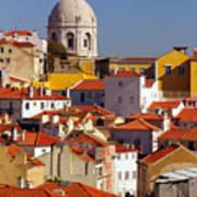 Lisbon View Art Print