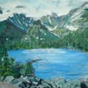 Little Grand Lake Art Print