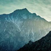 Lone Pine Peak Art Print