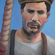 Long Shoreman Art Print