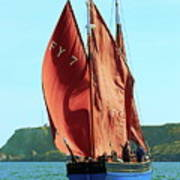 Looe Lugger 'our Daddy' Art Print