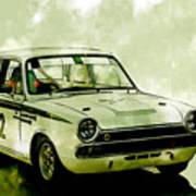 Lotus Cortina Art Print