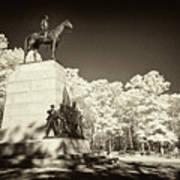Louisiana Monument At Gettysburg Art Print