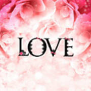 Love Heart Nd12 Art Print