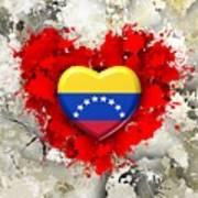 Love Venezuela Art Print