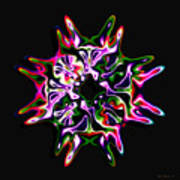 Luxe 3 Art Print