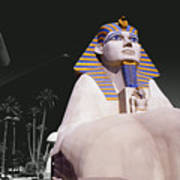 Luxor Sphynx Art Print