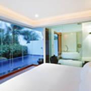 Luxury Bedroom Art Print