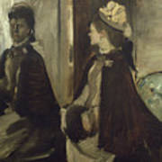 Madame Jeantaud In The Mirror Art Print