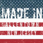 Made In Allentown, New Jersey Art Print
