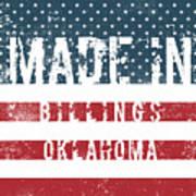 Made In Billings, Oklahoma Art Print