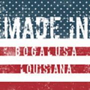 Made In Bogalusa, Louisiana Art Print