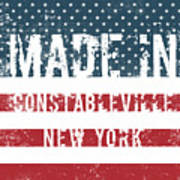 Made In Constableville, New York Art Print