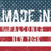 Made In Falconer, New York Art Print