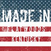 Made In Flatwoods, Kentucky Art Print