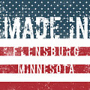 Made In Flensburg, Minnesota Art Print