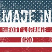Made In Fort Loramie, Ohio Art Print