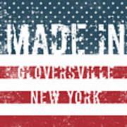 Made In Gloversville, New York Art Print