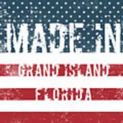 Made In Grand Island, Florida Art Print