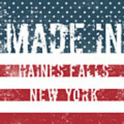 Made In Haines Falls, New York Art Print