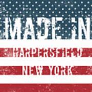 Made In Harpersfield, New York Art Print