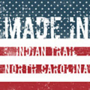 Made In Indian Trail, North Carolina Art Print