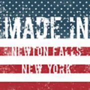 Made In Newton Falls, New York Art Print
