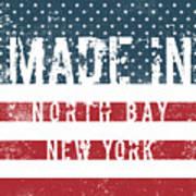 Made In North Bay, New York Art Print