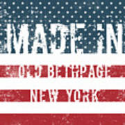 Made In Old Bethpage, New York Art Print