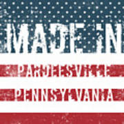Made In Pardeesville, Pennsylvania Art Print