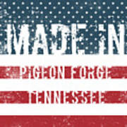 Made In Pigeon Forge, Tennessee Art Print
