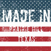 Made In Prairie Hill, Texas Art Print