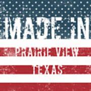 Made In Prairie View, Texas Art Print