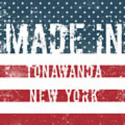 Made In Tonawanda, New York Art Print