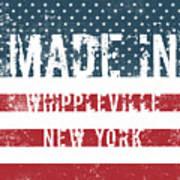 Made In Whippleville, New York Art Print
