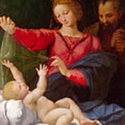 Madonna Of Loreto Art Print