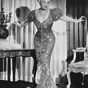 Mae West (1892-1980) Art Print