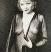 Mae West, Vintage Actress Art Print
