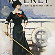 Magazine Cover, 1913 Art Print