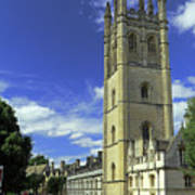 Magdalen Tower Art Print