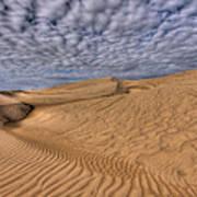 Magic Of The Dunes Art Print